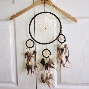 🍁2/$6! Dreamcatcher, Handmade Canada, Brown